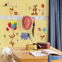 Peter Plys Wallstickers