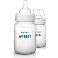 Philips Avent  Feeding Bottle  260ml 1m  2pack  CLASSIC SCF56327 9125