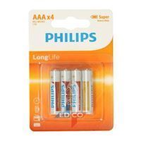 Philips Battery R3 AAA Long Life