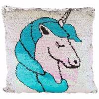 Pillow Unicorn Sequins