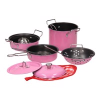 Pink Cookware set, 11 pcs.