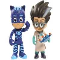 PJ Masks - 2pk Light Up Hero vs Villain - Catboy & Romeo