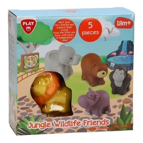 Playgo Jungledieren, 5dlg.