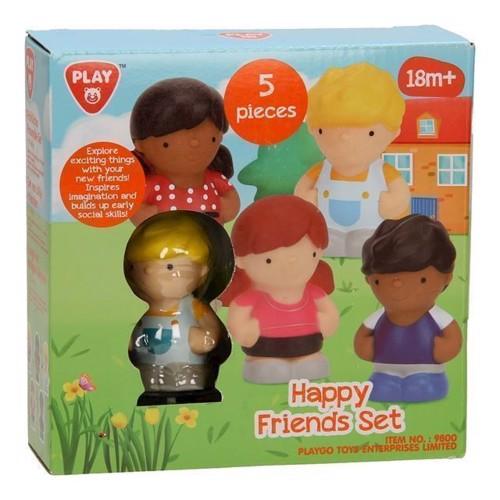 Playgo Toy figures, 5dlg
