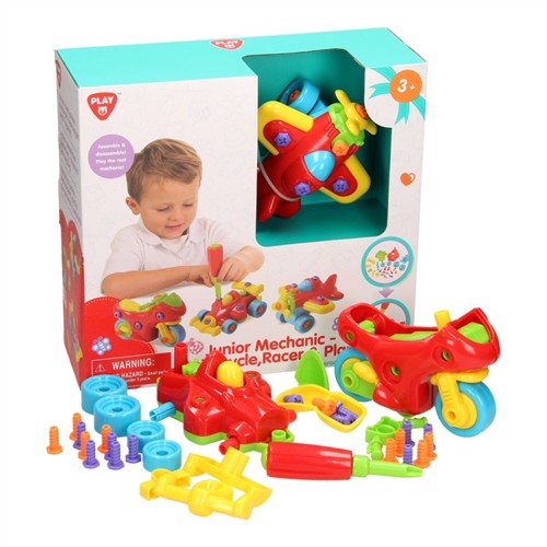Playgo Construction Set Aircraft and Vehicles