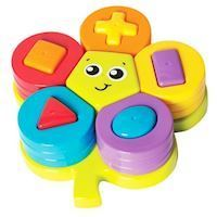 Playgro - Jerry's Class - Shape Sorting Flower Puzzle