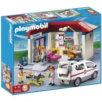 Playmobil - Clinic with Emergency Vehicle (5012)