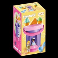 Playmobil - Ice Cream Shop Sand Bucket (9406)