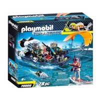 Playmobil 70006 Team SHARK Harpoon Boat