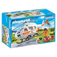 Playmobil 70048 First Aid Helicopter