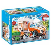 Playmobil 70049 Ambulance and Ambulance