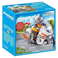 Playmobil 70051 Emergency doctor on Moter