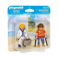 Playmobil 70079 Duopack Doctor and Patient