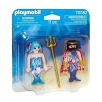 Playmobil 70082 Duopack Sea King and Mermaid