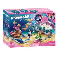 Playmobil 70095 Night lamp in shell with mermaids
