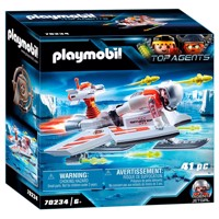 Playmobil 70234 spy team pilot