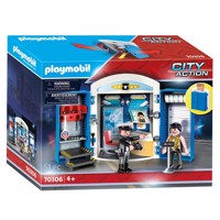 Playmobil 70306 policestation playbox