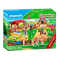 Playmobil 70337 large racetrack