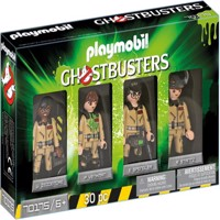 Playmobil  Ghostbusters  Figures Set Ghostbusters TM 70175