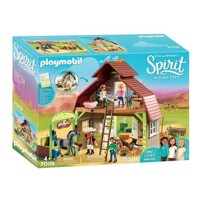 Playmobil Spirit 70118 Barn with Lucky, Pru and Abigail