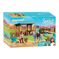 Playmobil Spirit 70119 Arena with Lucky and Javier