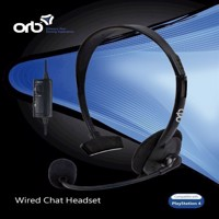 Playstation 4  Wired Chat Headset ORB