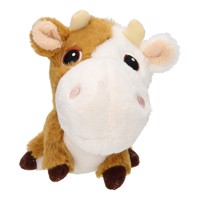 Plush Farm Animals - Cow, 11 cm