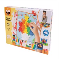 Plus Plus - BIG Basic - Picture Puzzel - 60 pcs