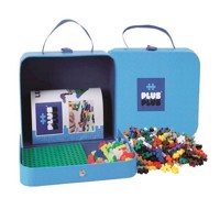Plus Plus  Suitcase Cardboard  Blue 2729