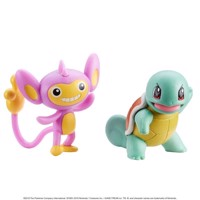 Pokemon Figure Battle Pack 5 Cm Aipom And Squirtle