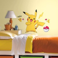 Pokemon PIKACHU Wallstickers
