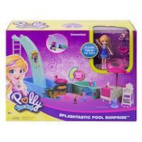 Polly Pocket  Swimming party