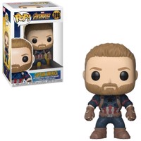 POP Marvel Avengers Infinity War Captain America