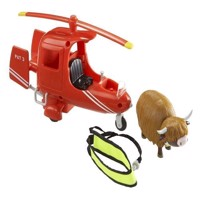 Postman Pat  Helicopter with Cow