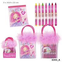 Princess Mimi - Colouring Book With Wax Crayons (046343)