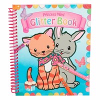 Princess mimi glitter colouringbook