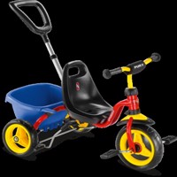 Puky Cat1S Tricycle Red/Blue