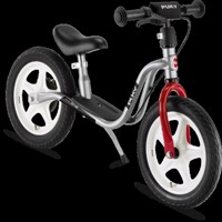 Puky Lr1 Balance Bike Silver/Red