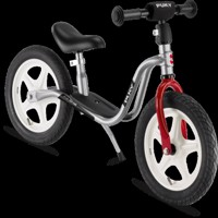 Puky Lr1L Balance Bike Silver/Red
