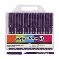 Purple markers, 18st