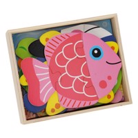 Puzzlebox With 6 Puzzles Underwater World
