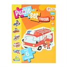 Puzzleset Emergency services with 6 Puzzles