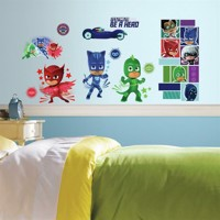 Pyjamasheltene (PJ Masks) Wallstickers