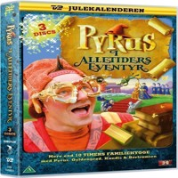 Pyrus i Alletiders Eventyr 3disc  DVD