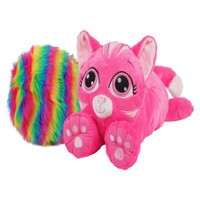 Rainbow Fluffies - Small - Pink Cat