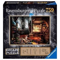 Ravensburger Escape Room Puzzle  Dragons Laboratory, 759st