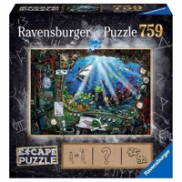 Ravensburger Escape Room Puzzle  The Submarine, 759st