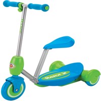 Razor  Lil E Electric Scooter  Seated  Blue