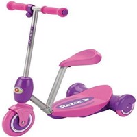 Razor  Lil E Electric Scooter  Seated  Pink