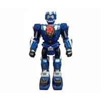 RC Shooting Robot - Blue